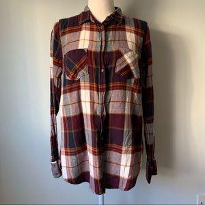 Target Merano Burgundy Flannel Women's Shirt